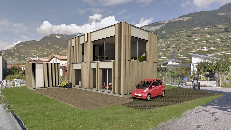 Ein Kleinhaus ganz gross! Wieder ein Projekt, dass uns so richtig Spass bereitet.