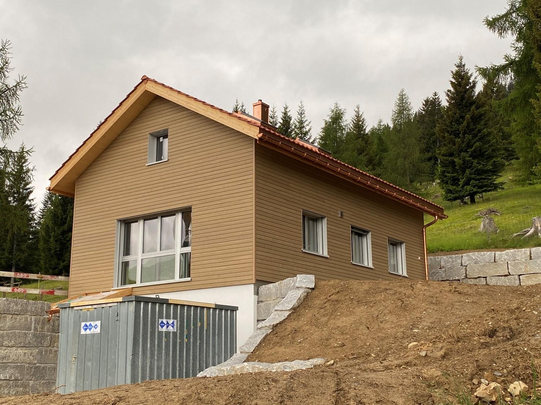 Ferienhaus im Bündnerland