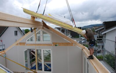 Mehr Wohnraum – Dachstock ausbauen