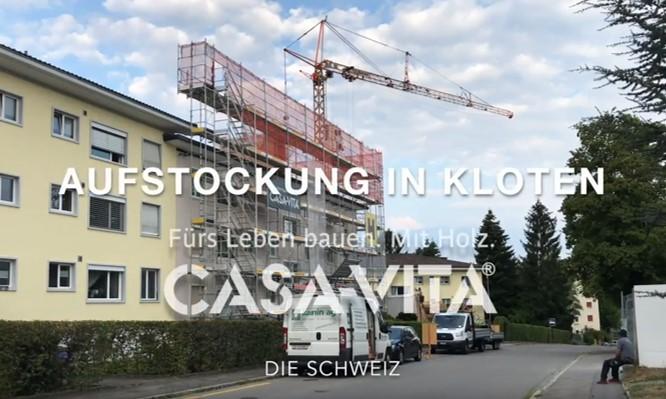 Verdichtetes Bauen: Aufstockung eines Mehrfamilienhauses