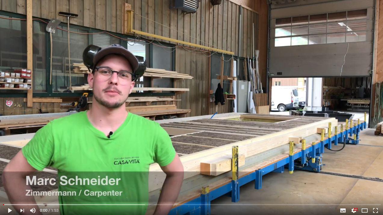 Wie baut man ein ökologisches Holzhaus.