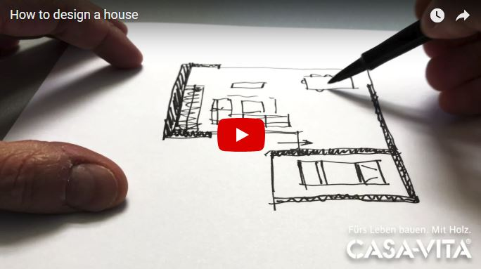 Wie man ein Haus entwirft