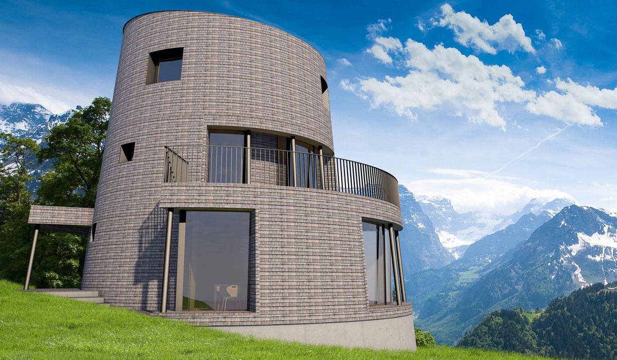Weltweit erstes Zigerloft in Braunwald